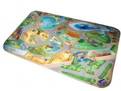 Dětský koberec ZOO 3D