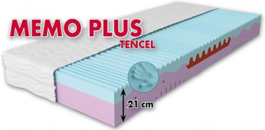 Zdravotní matrace MEMO PLUS Tencel - ortopedická