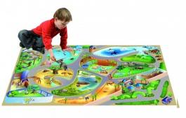 Dětský koberec 3D ultra soft ZOO