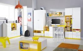 Dětský/Studentský pokoj Moli A - výběr barev