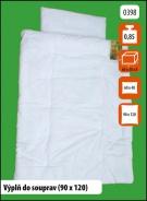 Dětská peřina 90x120 s polštářem 60x40