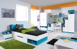 Dětský/Studentský pokoj Moli C - výběr barev