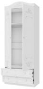 Dvoudveřová skříň Juliet - bílá