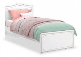 Dětská postel Betty 100x200cm - bílá/šedá