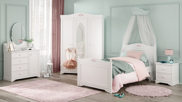 Dětský pokoj Ballerina - bílá