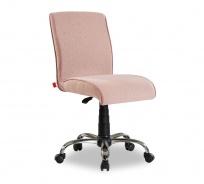 Čalouněná židle na kolečkách Ballerina - lososová