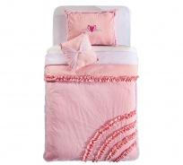 Přehoz přes postel 90-100cm Ballerina - růžová