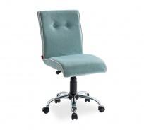 Čalouněná židle na kolečkách Ballerina - mint