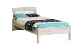Dětská postel Beach 90x200cm - dub pískový/bílá