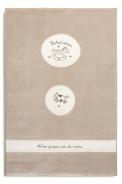 Dětský kusový koberec 120x180cm Chloe - krémová/bílá