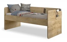 Jednolůžková postel Cody 90x200cm - dub světlý