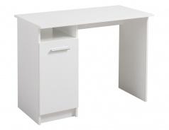 Psací stůl Steven - bílá