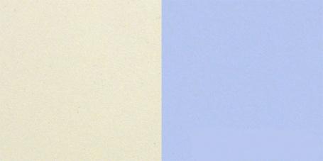 krémový/modrý