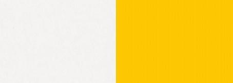 bílý lux/žlutý
