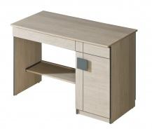 Dětský psací stůl Loki - dub santana/popel