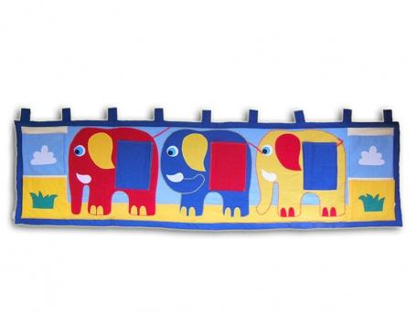 Kapsář za postel sloni 195x55cm