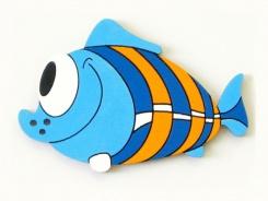 Dětská dekorace Ryba modrá 42cm
