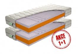 Pěnová matrace Kerin 1+1 Zdarma - 90x200cm