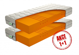 Partnerská matrace Caliopa 1+1 Zdarma - 80x200cm