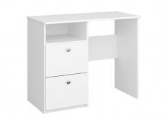 Psací stůl Amenity - čistě bílý
