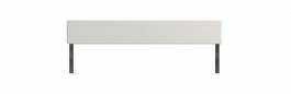 Zábrana k jednolůžku Dany II - bílá