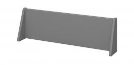 Čelo k posteli Dany 90x200cm - tmavě šedá