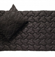 Polštář Metallic černá 70x90cm