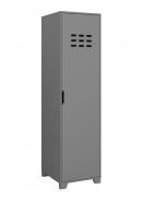 Šatní skříň jednodvéřová Simply - šedá
