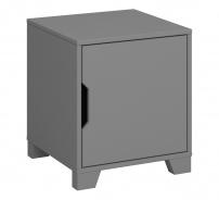 Noční stolek Simply - šedý