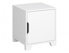 Noční stolek Simply - bílý