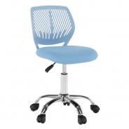 Otočná židle SELVA - modrá/chrom