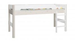 Vyvýšená postel Eveline 90x200cm - bílá