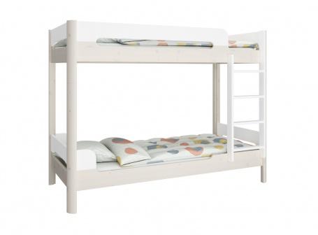 Patrová postel Eveline 90x200cm - bílá