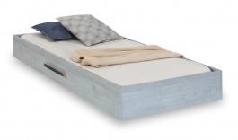 Zásuvka 90x190cm k posteli Lincoln - dub modrý