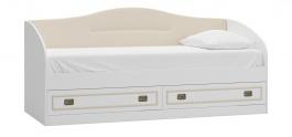 Dětská postel se zásuvkami 90x200cm Sailor - bílá