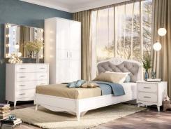 Malý dětský pokoj Lily - bílá