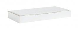 Přistýlka 90x190cm Dylan - bílá/dub světlý