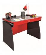 Dětský psací stůl Rally - červená/antracit