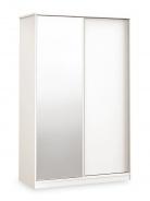 Skříň s posuvnými dveřmi Pure - bílá
