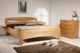 Masivní postel s úložným prostorem Evita 2 - 80/90/100x200cm - 100 x 200cm