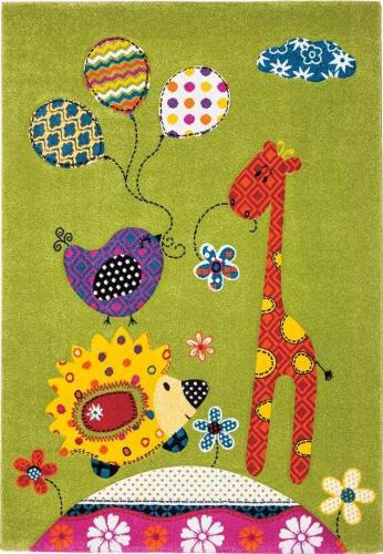 koberec do dětského pokoje se žirafou
