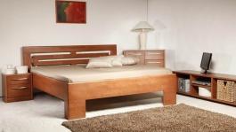 Masivní postel s úložným prostorem Varezza 2 - 120/140x200cm - 120 x 200cm