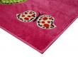 kusový koberec růžový