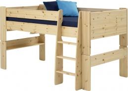 Dětská vyvýšená postel Dany 90x200 cm (výška 113cm) - masiv