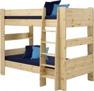 Dětská patrová postel Dany 90x200 cm - masiv