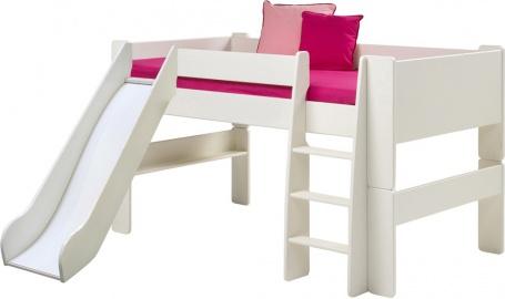 Dětská vyvýšená postel se skluzavkou Dany