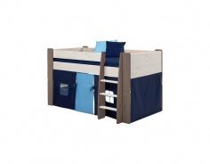 Textilní domeček k vyvýšené posteli Dany - tmavě modrá