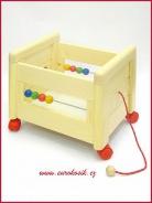 Box na hračky bez víka