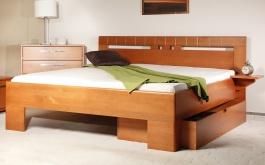 Masivní postel s úložným prostorem Varezza 1 - 120/140x200cm - 120 x 200cm