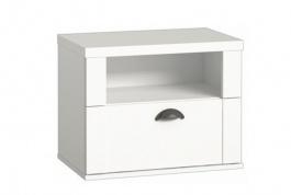 Noční stolek Heaven - bílý